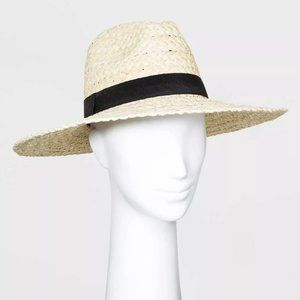 COPY - Women's Panama Hat Natural With Black Band…
